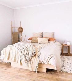 Cute Bedroom Decor, Room Design Bedroom, Small Room Bedroom, Room Ideas Bedroom, Bedroom Styles, Home Bedroom, Master Bedroom, Couple Bedroom, Design Room