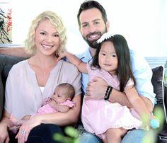 Katherine Heigl And Josh Kelley With Daughters Naleigh & Adalaide