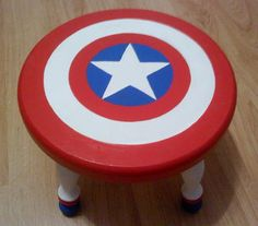 stool... I bet this wouldn't be tough to make from an Ikea stool