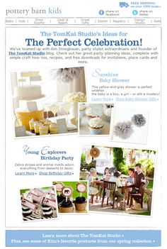 the tomkat studios:an email from pottery barn kids