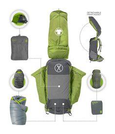 Efficient backpack ! / Un sac à dos efficace !