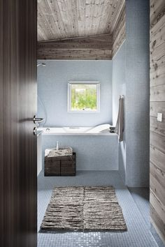 White, wood, window, rug, floor & wall tiles
