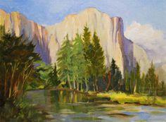 oil paintings | Yosemite Paintings Fine Art - Oil and watercolor paintings of El ...