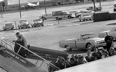 The strange fate of President Kennedy's first casket: President John F. Kennedy's casket is carried onto Air Force One at Love Field in Dallas, Texas, November 22, 1963.