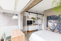 A Compact 24m Apartment in Brazil by Casa 100 Arquitetura