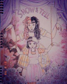 Only Melanie, Melanie Martinez Drawings, Crybaby Melanie Martinez, Bizarre Art, Fandom, Love And Respect, Beautiful Drawings, Cry Baby, Cute Photos