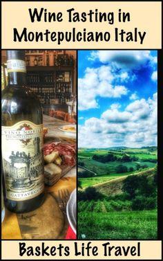 Wine Tasting in Montepulciano, a Wine Lovers Dream -