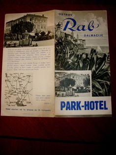 PARK HOTEL RAB DALMATIE OSTROV JUGOSLAVIJA. SALES BROCHURE | eBay