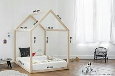 New baby bedroom montessori bed frames ideas Big Girl Rooms, Baby Boy Rooms, Baby Bedroom, Girls Bedroom, Toddler Rooms, Toddler Bed, Childrens Beds, House Beds, Baby Furniture