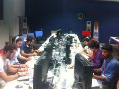 Il Social Team di TGO in Live Tweeting from Sky #SkyOlimpiadi