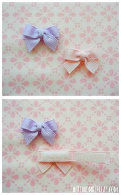 Newborn Velcro Clip - {The Ribbon Retreat Blog}
