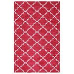 <strong>Billings Fancy Trellis Hot Pink Printed Area Rug</strong> by Three Posts