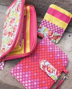 Sew Sweetness Greenbacks Wallet Trio Sewing Pattern