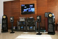 Audiophile Speakers, Hifi Audio, Hifi Stand, Horn Speakers, Home Theater Setup, Audio Room, High End Audio, Surround Sound, Home Entertainment