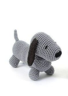 Opskrift - hæklet Hund