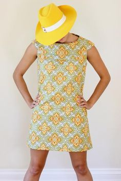 Amy Butler Lotus Fabrics with the Anna Tunic - love this pattern, need to make another dress!