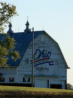 The Ohio bicentennial barn in Fayette County, shot in fall, 2010