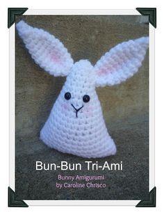 Bunny TriAmi - Free Amigurumi Pattern