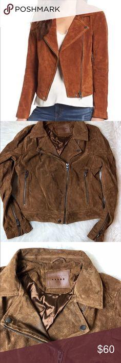d06751fb3 NWD BlankNyc Women Suede Moto Jacket In Spice New with defects. NWD  BlankNyc Women Suede