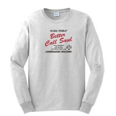 Better Call Saul LONG Sleeve T-shirt Breaking Bad Los Pollos Hermanos Chickn Brothers AMC TV Show