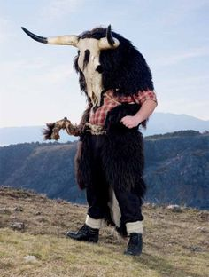 Traditional & Ceremonial Pagan Costumes of Europe Charles Freger, Character Inspiration, Character Design, Rose Croix, Cultures Du Monde, Folk, Mode Costume, Celebration Around The World, Baphomet