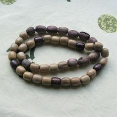 This listing is for vintage wooden necklace which was made in 80s in USSR. The length of the necklace is 32 inches.    All wooden beads has finished