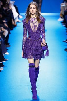 Elie Saab Fall 2016 Ready-to-Wear Fashion Show - Romy Schonberger (Viva)