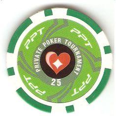 Fiches Private Poker Tournament valore 25 Pokershop - Fiches ed accessori per il poker