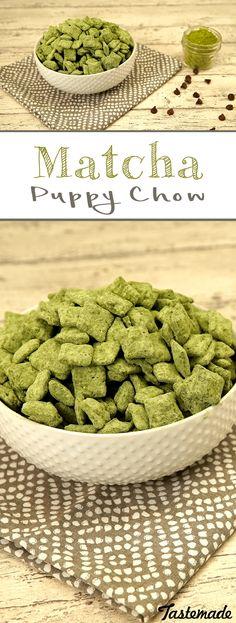 Class up a classic childhood favorite by adding matcha green tea.