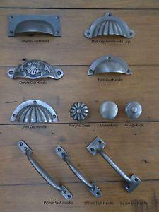 VINTAGE-CAST-IRON-CHEST-DRAWER-KITCHEN-CUPBOARD-DOOR-SHABBY-CHIC-HANDLES-KNOBS