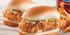 Chicken Littles Sandwiches from KFC