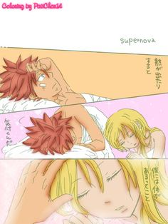 A good friend sended me a really cute NaLu doujinshi *o* It's the first time that i colored a whole page (i'm just coloring since a week or less than that,so don't be to rude ^^') Coloring by:Meee ...