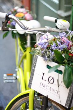 Cook'n Closet: Lovely Bike by Løv Organic