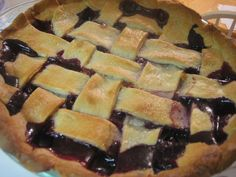 Blueberry (or Blackberry, Raspberry,or All of the Above!) Pie - Don't Waste the Crumbs!