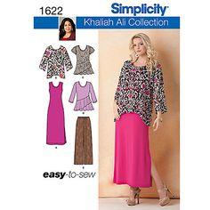 89c8c5db134600 Simplicity Plus Size Dressmaking Leaflet