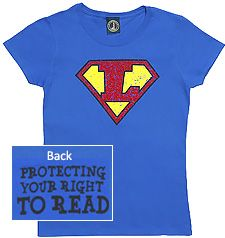 Super Librarian (front) Protecting Your Right To Read (back) Friends Of The Library, Super Hero Shirts, Summer Reading Program, Library Ideas, Story Time, Libraries, Shirt Ideas, Tuesday, September