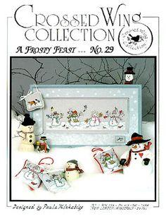123stitch.com:  A Frosty Feast - Cross Stitch Pattern