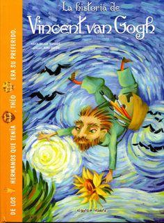 Adaptación pictográfica de la vida, el pensamiento y las acciones de Van Gogh.