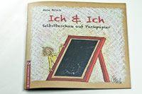 ICH & ICH – SELBSTBESCHAU AUF PACKPAPIER  Wie man in den Spiegel guckt, so guckt's heraus. Eine Sammlung an Wachkreidezeichnungen von Mele Brink.  4,00 € unter www.editionpastorplatz.de