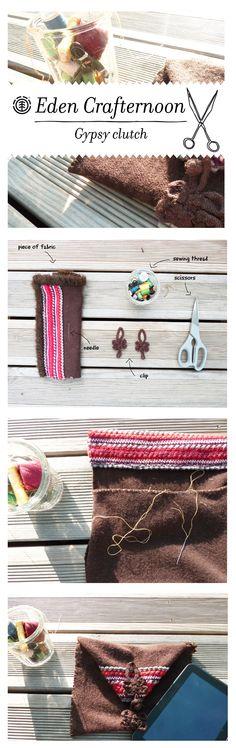 #elementeden #livelearngrow #crafternoon #clutch >>> http://eu.elementeden.com/c/blog/eden-crafternoon-gypsy-clutch
