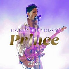 Happy birthday, Prince! We hope you're reigning in purple heaven