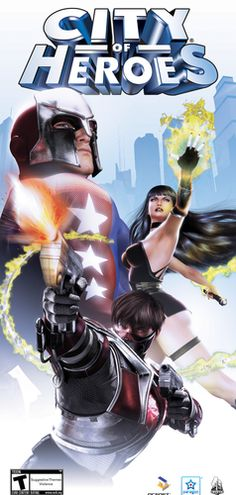 City of Heroes - Cover - City of Heroes Wall Graphics for your empty walls! Great Home Decor.