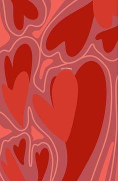 Hippie Wallpaper, Trippy Wallpaper, Heart Wallpaper, Iphone Background Wallpaper, Cute Patterns Wallpaper, Aesthetic Pastel Wallpaper, Aesthetic Wallpapers, A4 Poster, Poster Prints