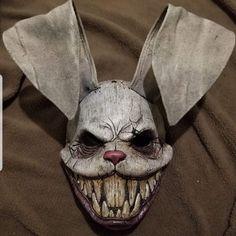 Masque Halloween, Scary Halloween Masks, Creepy Masks, Arte Horror, Horror Art, Mascaras Halloween, Arte Obscura, Animal Masks, Maquillage Halloween