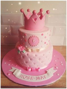 ... Cake for 6 year old girl  