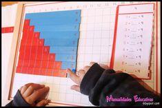 Tablero de la Suma Montessori - Con mini libros para imprimir - Creciendo con Montessori