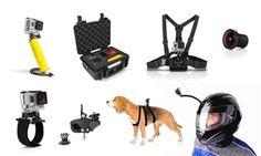 Todo tipo de accesorios GoPro desde 5,90 € (hasta 77% de descuento) *Arnés ajustable de perros universal para GoPro y Cámara Xtreme Sports Pix por 32,90 € (71% de descuento) Xtreme Sports, Dogs, Animals, Gopro Accessories, Gatos, Animales, Animaux, Pet Dogs, Doggies