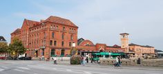 Malmo Central station - view from south - Sweden