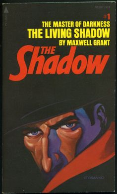 The Shadow 1 - The Living Shadow - Steranko cover