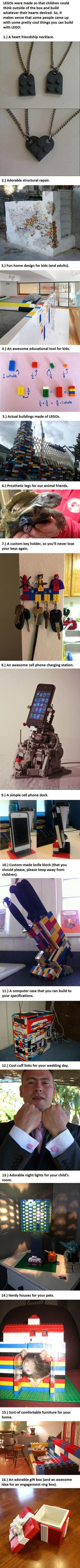 16 awesome uses for LEGO you probably didn't think about